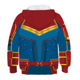 Kids Hoodie Captain Marvel hooded sweatshirt