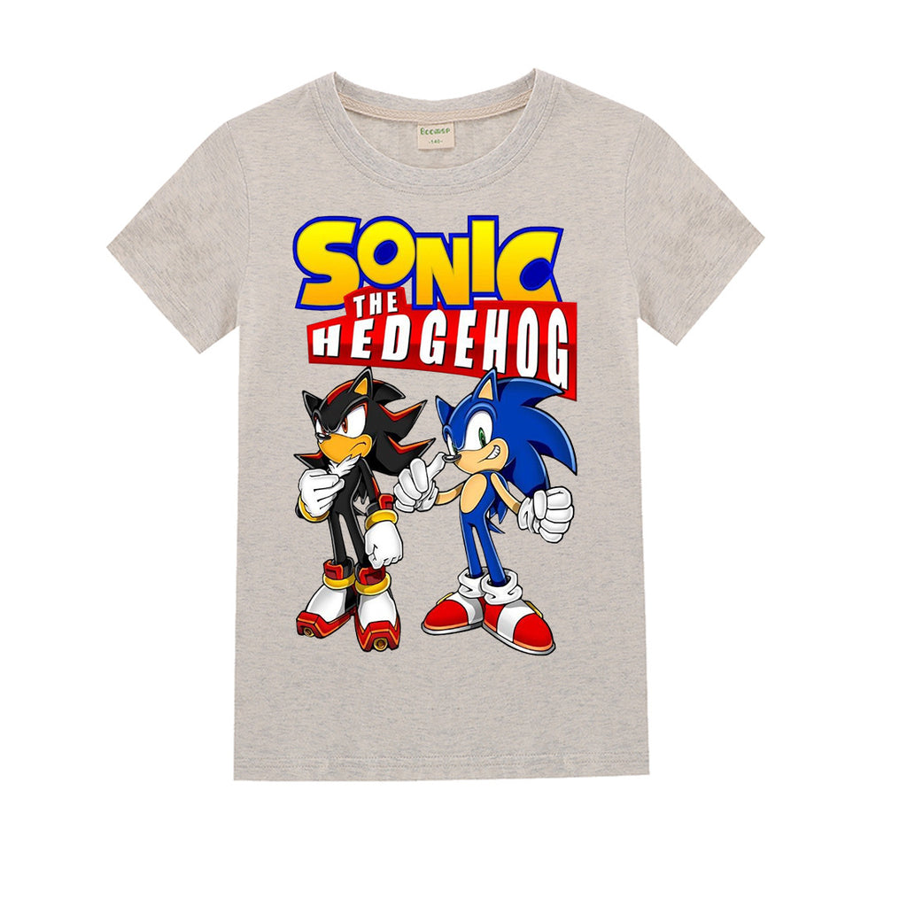sonic the hedgehog kids t-shirt  for boys and girls