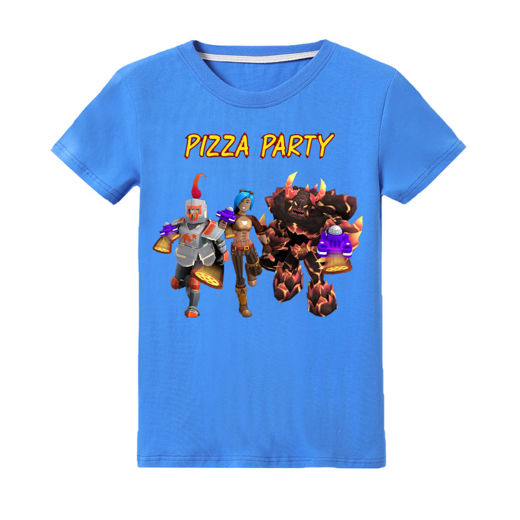 Roblox pizza party t-shirt for boys and girls NEW ARRIVALS