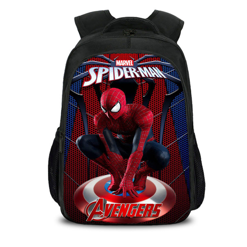 Teen's book bag Spider Man Into The Spider-verse Nylon Backpack