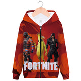 fortnite peely ZIP UP hoodie unisex 3d color full printing  sweatshirt