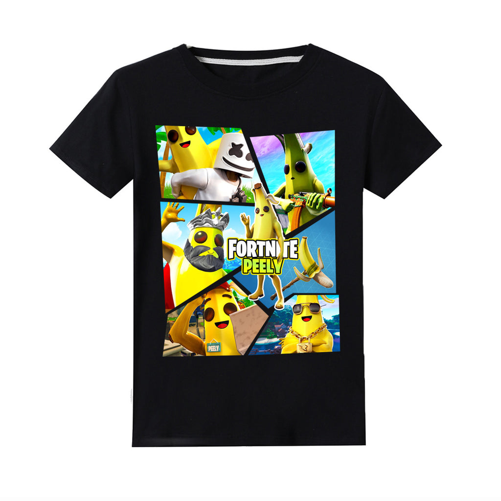 Fortnite Peely Printing Cute T Shirt For Childre Nfgoods