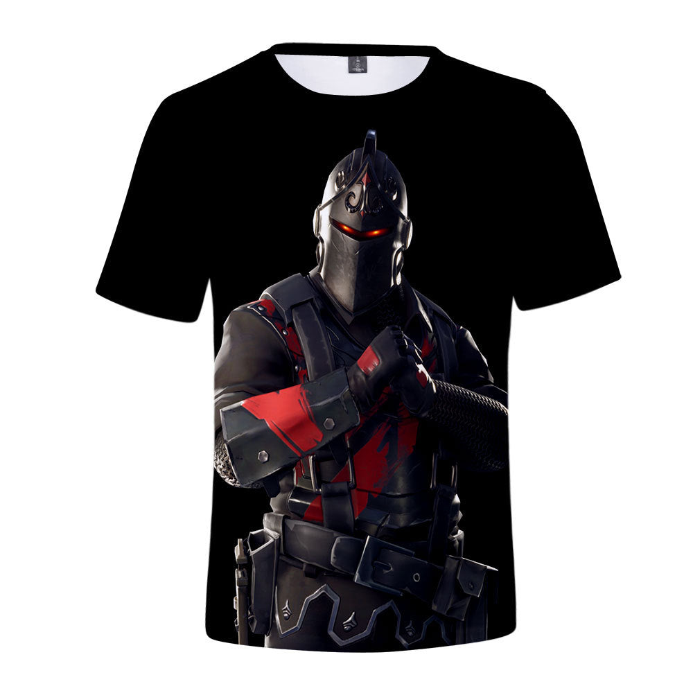 Fortnite Season 9 Black Knight 3D Kids T-shirt