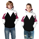 Kids Spider-Gwen Hoodie Unisex hooded Sweatshirt