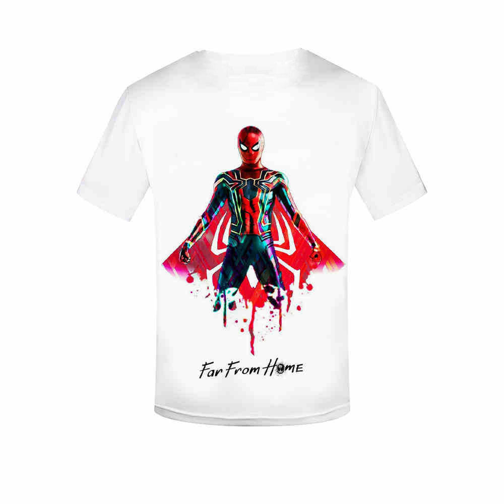 spider-man far from home 3D printing t-shirt