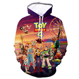 New Sweatshirt Toy Story 4 3D colorfull printing hoodie