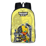 New Fashion Duckbill boy printed  backpack 16""