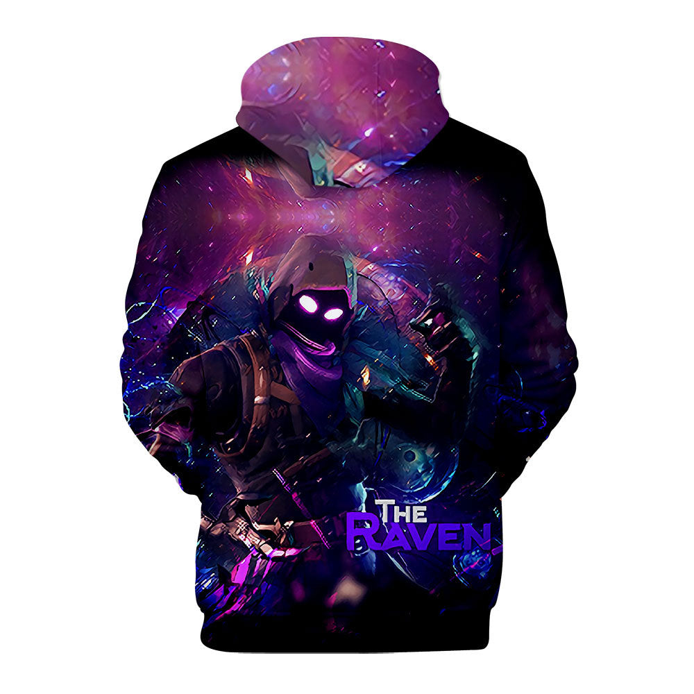 New Fortnite Raven  Hoodie Unisex Sweatshirt