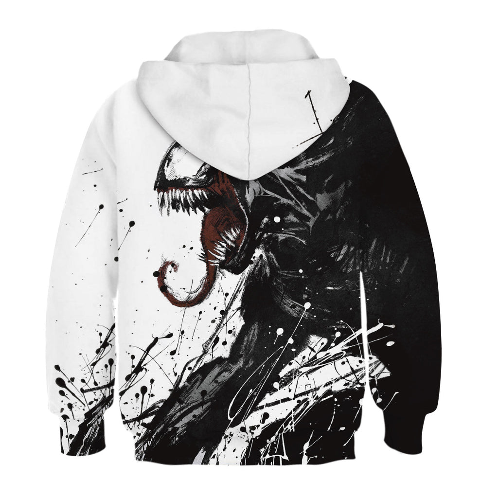 The latest venom 3D Kids Hoodie Unisex Sweatshirt