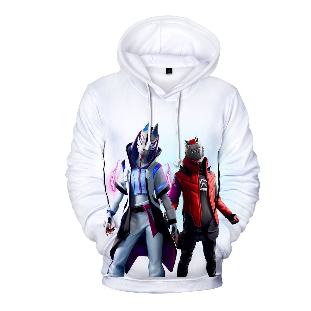 Fortnite Season 10 Catalyst and X-Lord  3d hoodie