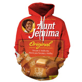 Aunt Jemima Original 3D Hoodie Men's Women's Sweatshirt
