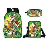 Ben 10 bapckpack with Lunch bag