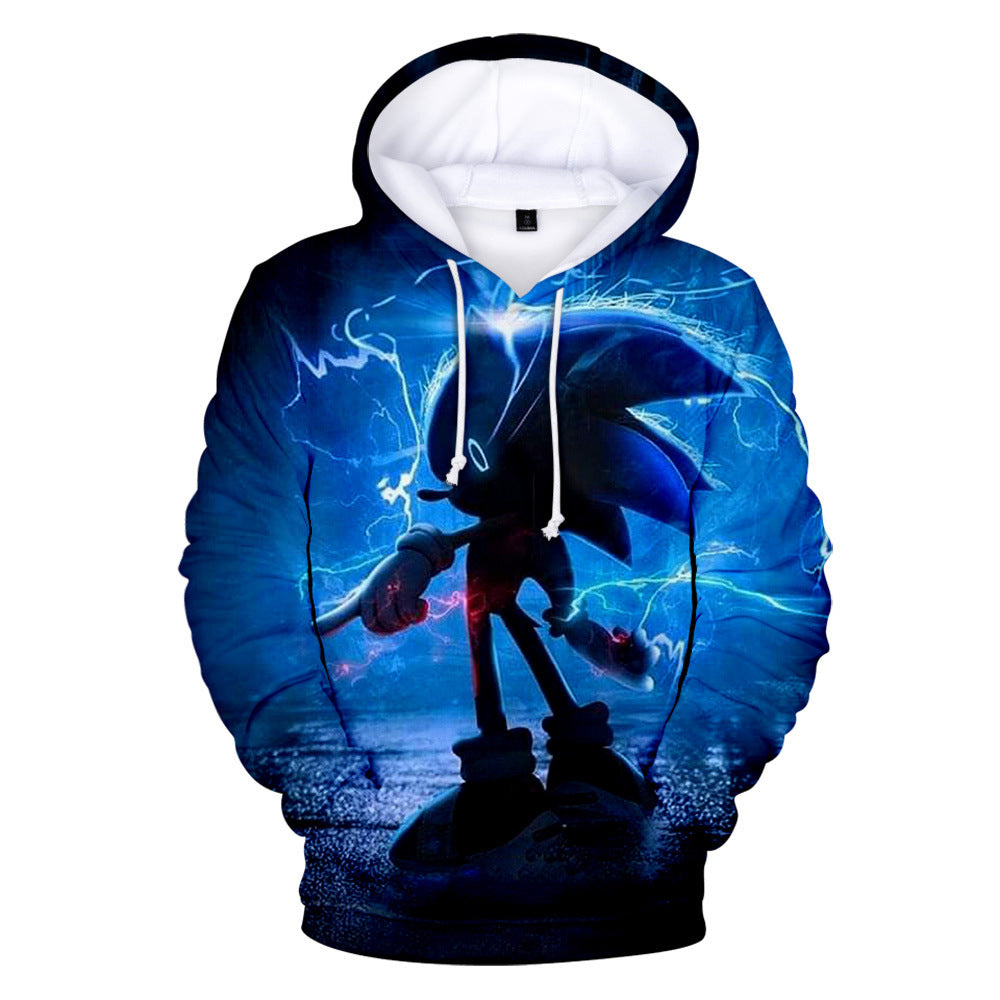 sonic the hedgehog movie  3D printing Hoodie