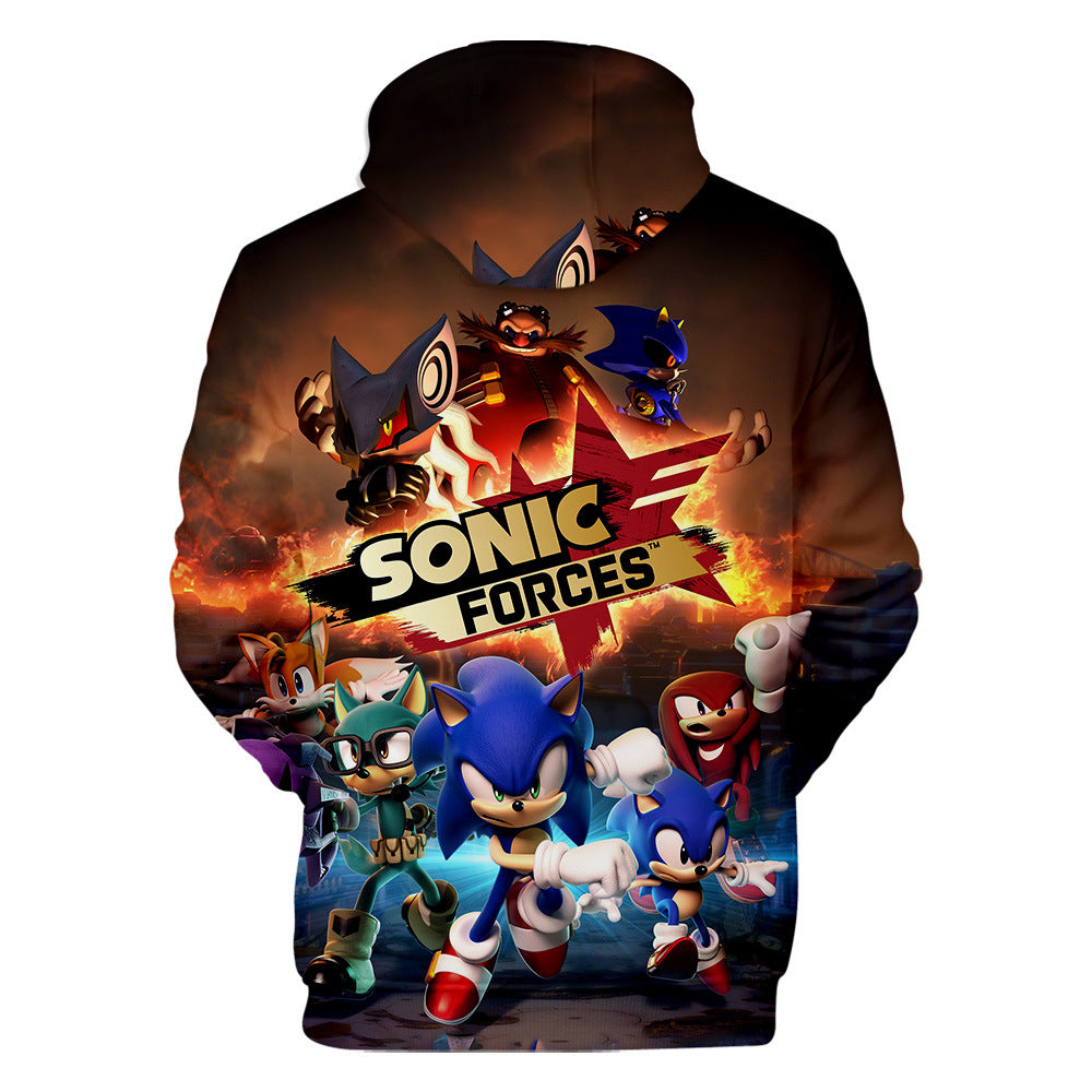 Fashion Sonic Forces 3D Hoodie