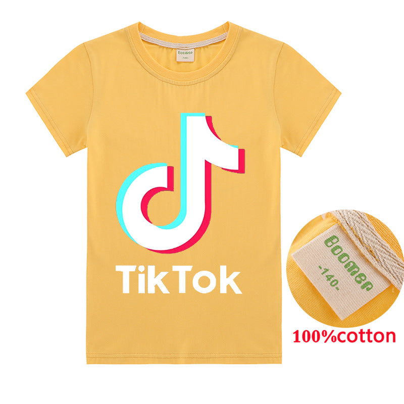 Kids TikTok Cotton t-shirt