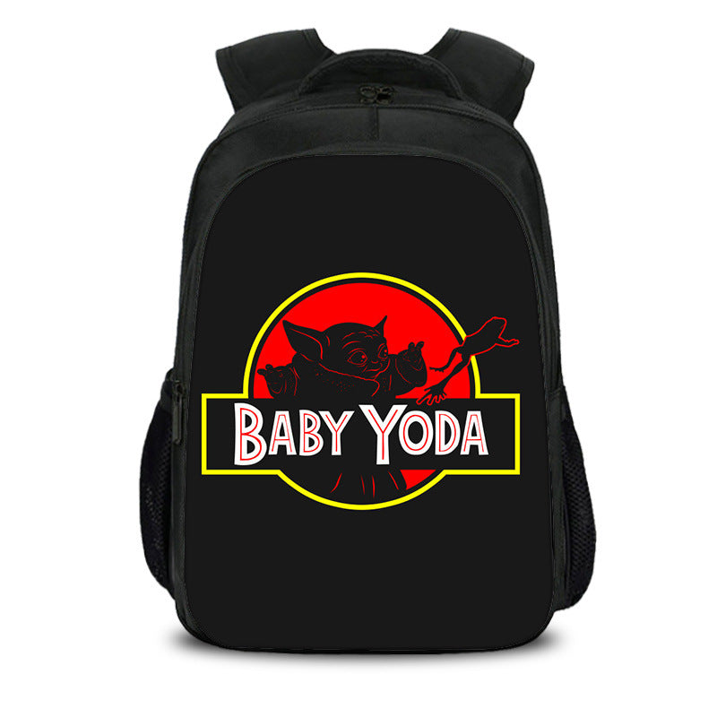 Kids baby Yoda backpack