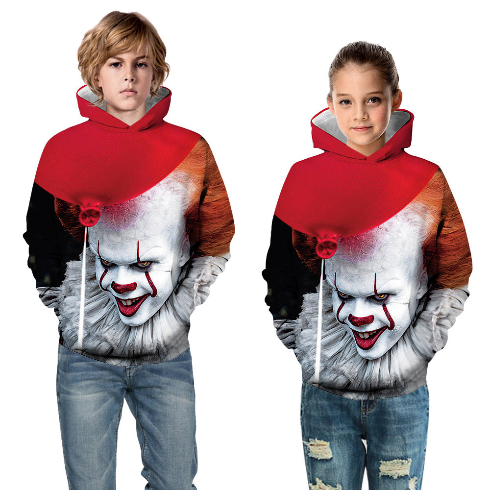 Kids It Chapter2 PENNYWISE 3D Hoodie