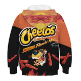 New Kids Crunchy Xxtra Flamin' Hot Cheetos Hoodie