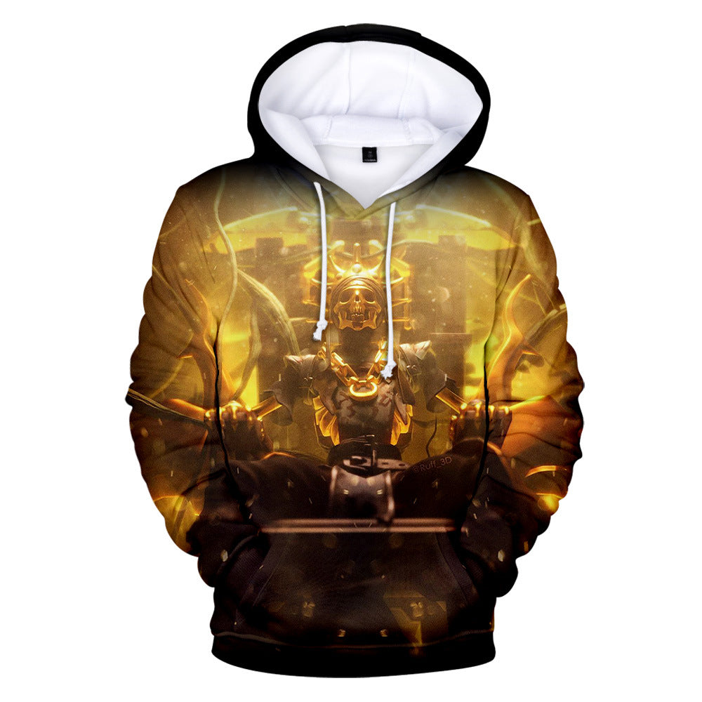 Fortnite Chapter 2 Season 2 Oro Hoodie 3D Printed Sweatshirt
