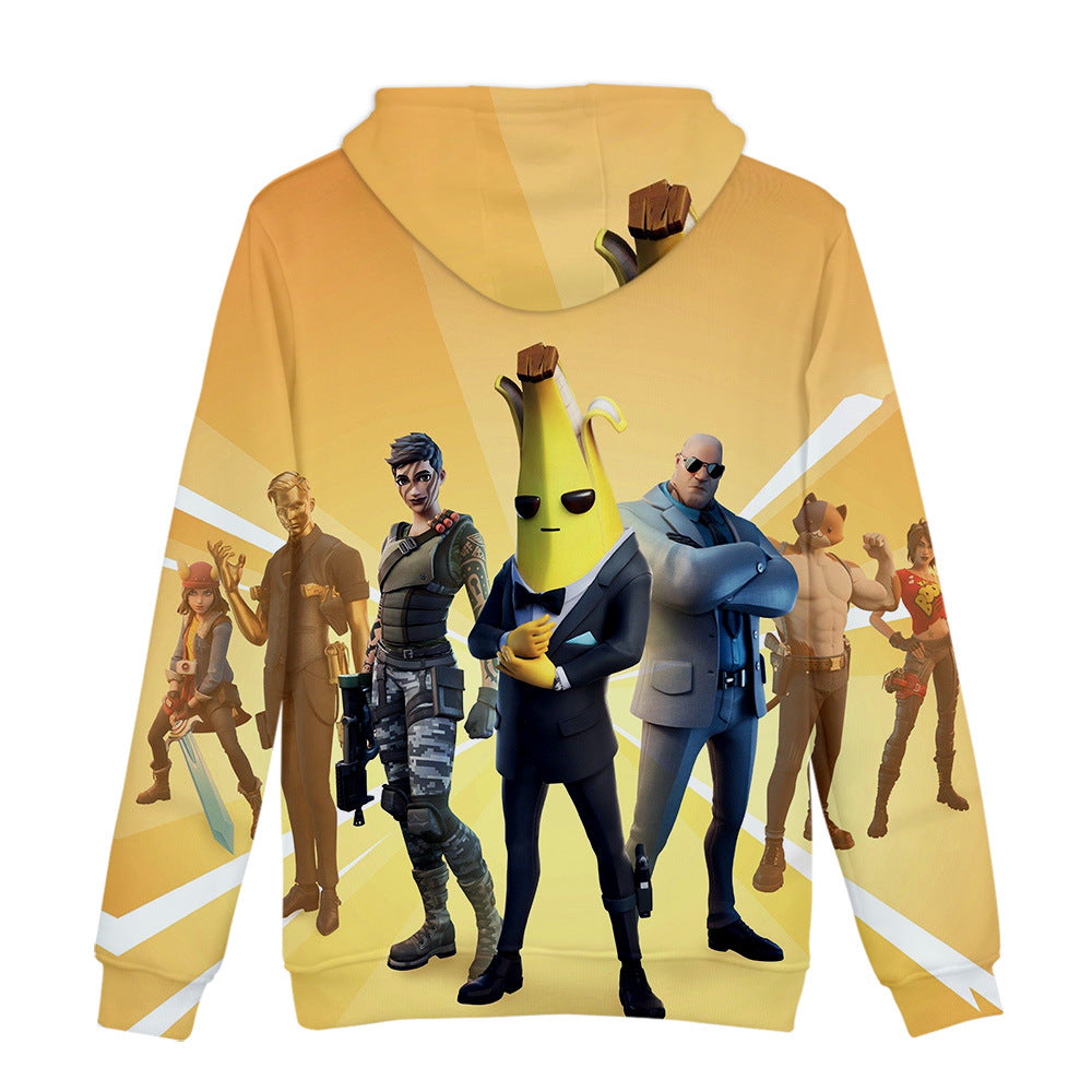 Kids Fortnite AGENT PEELY  Hoodie  3D Printed Sweatshirt