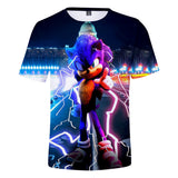 2020 Sonic The Hedgehog Movie Men's 3D T-shirt