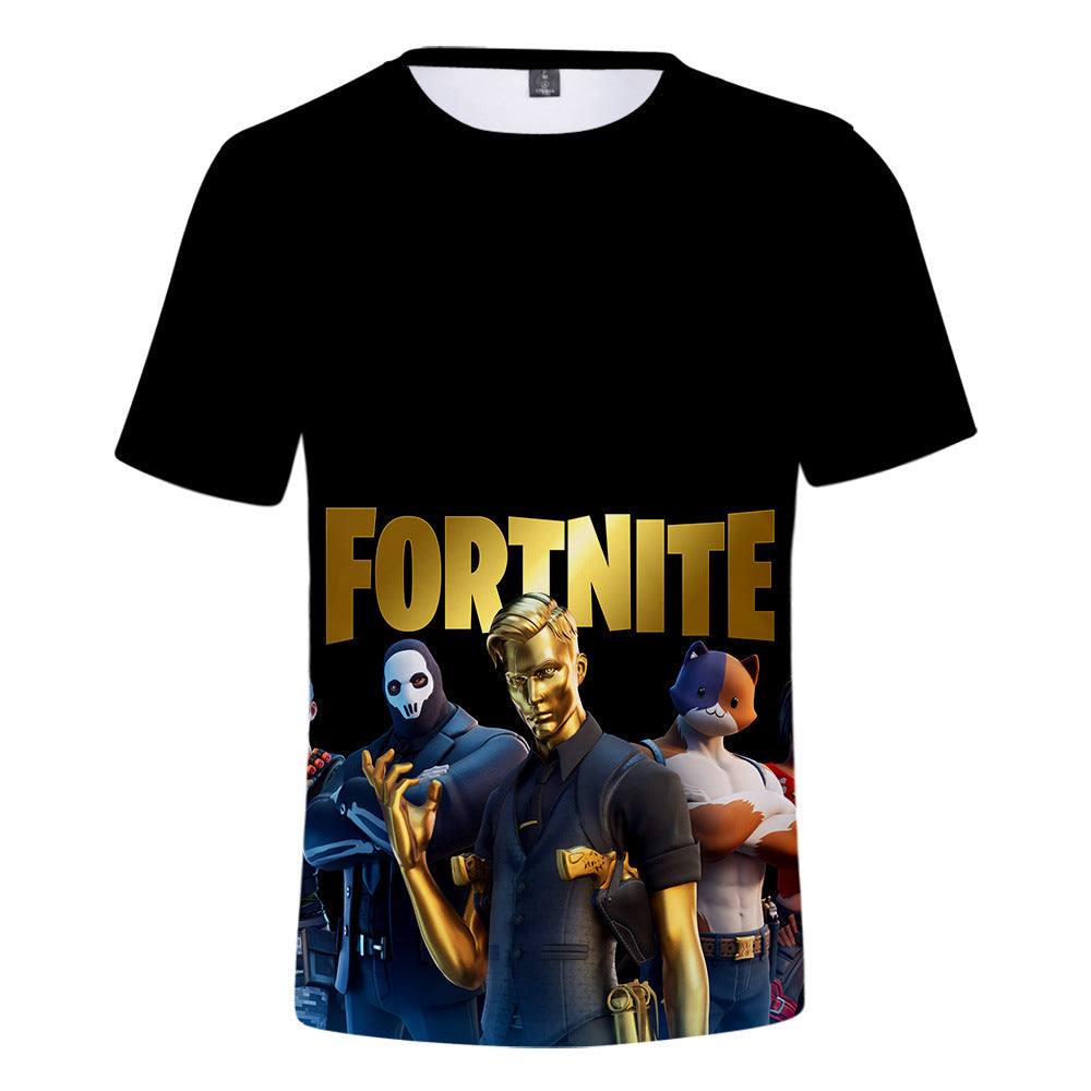 Kids Fortnite Chapter 2 Season 2 MIDAS 3D T-shirt