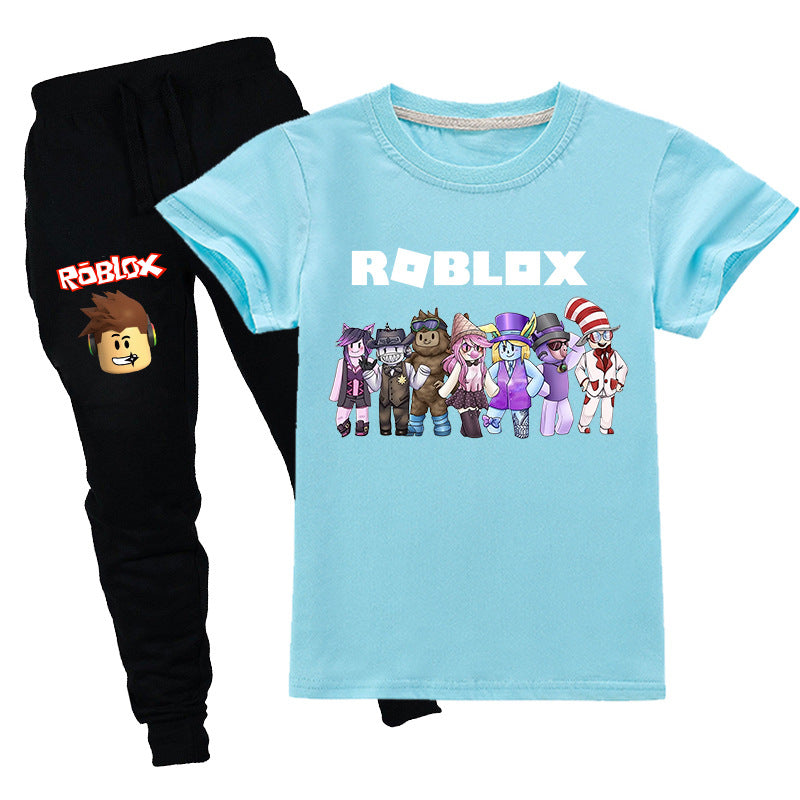 Kids Roblox T-shirt with Pants