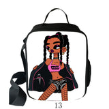 NFGOODS Kids afro lady lunch bag