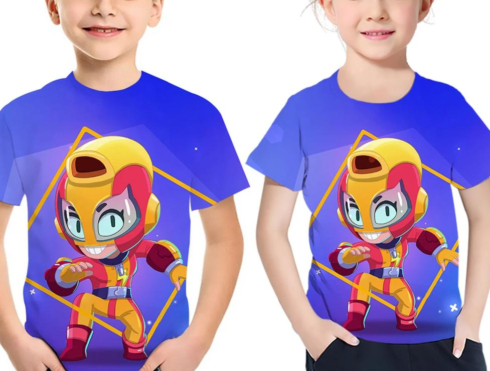 Kids Brawl Stars  MAX 3d t-shirt