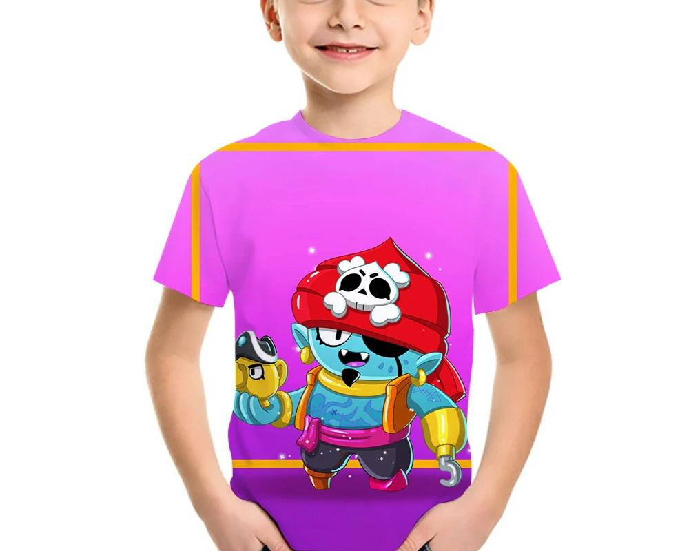 Kids Brawl Stars  PIRATE GENE  t-shirt
