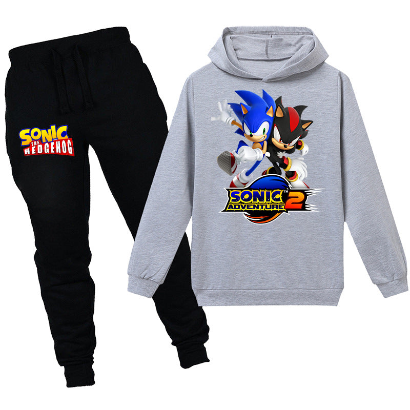 Kids sonic adventure 2 Hooded shirt with pants