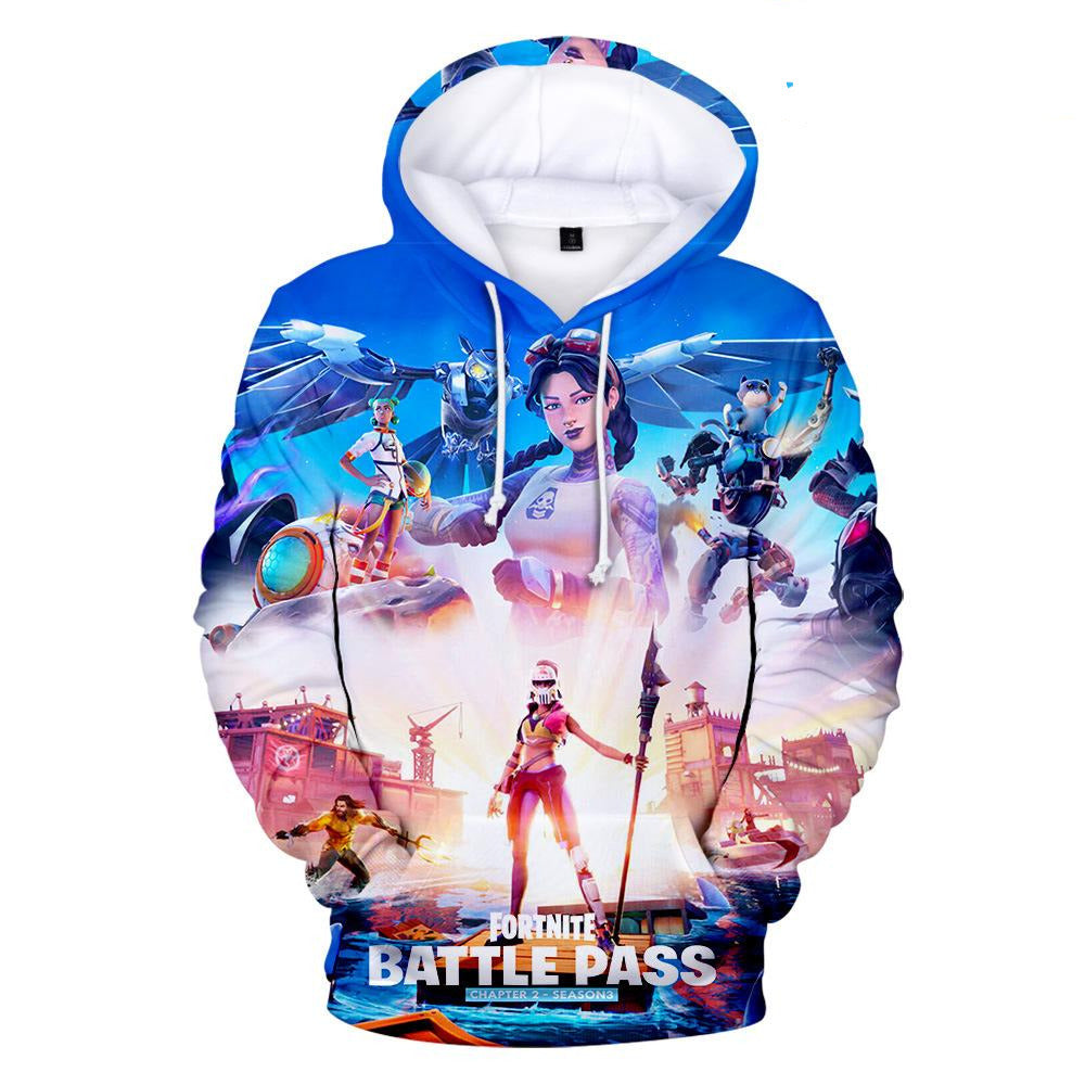 Fortnite Season 3 Chapter 2 Battle Pass Sweatshirt Jules 3d Hoodie