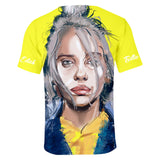 Billie Eilish t-shirt Novelty Fan  shirt