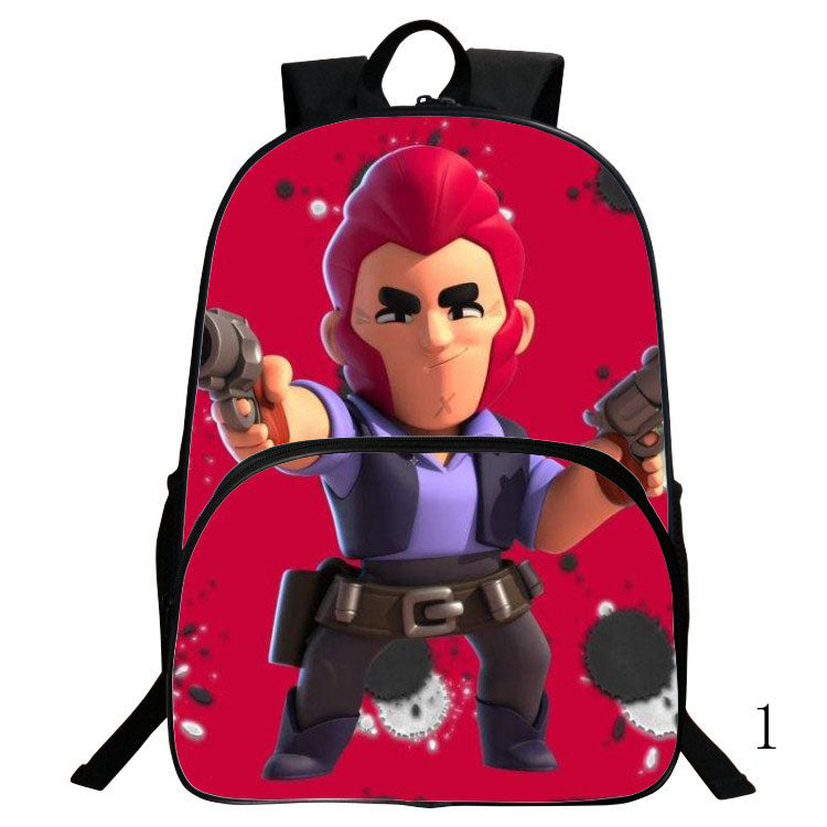 Fashion Brawl Stars Kids book bag