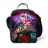 stranger things 3 backpack with lunch bag and pencil case