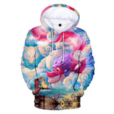 Fashion Wish Dragon 3D Hoodie Unisex Sweatshirt