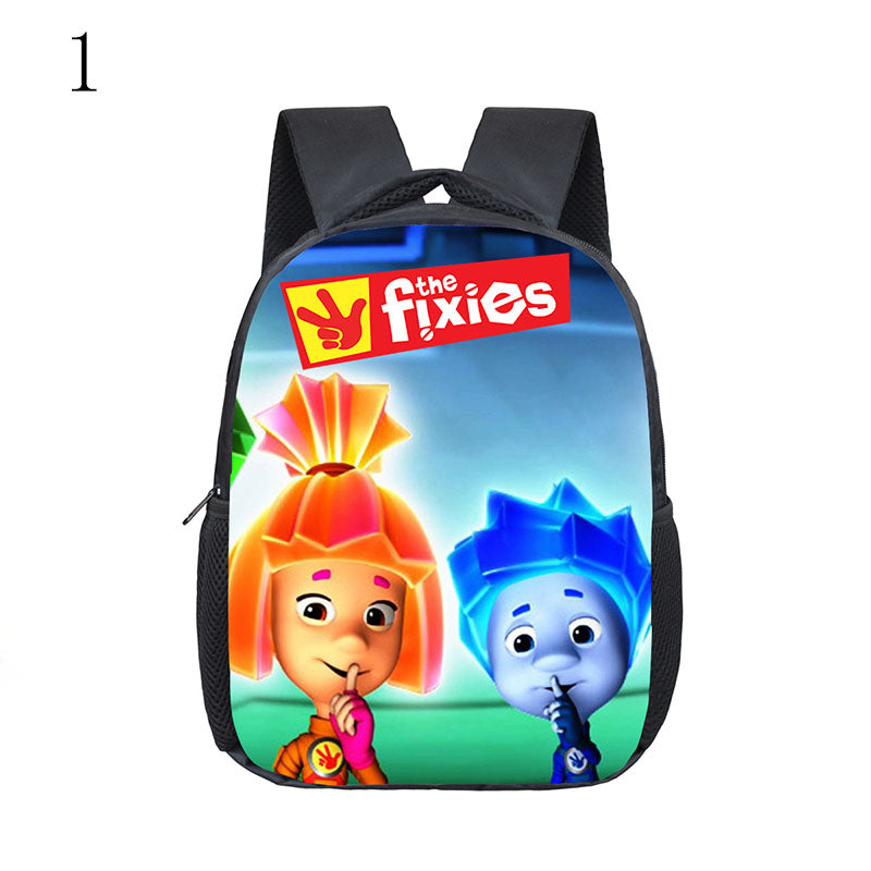 the fixies backpack for children go to school