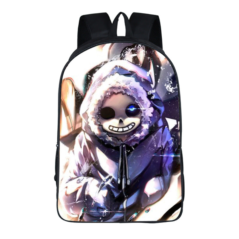Anime Undertale Sans Printing cute Backpack