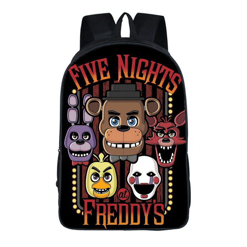 Five Nights at Freddy's backpack cool schoolbag