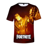 New Arrivals fortnite season 9&Avengers Endgame 3D pringing Kids t-shirt