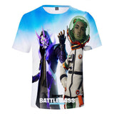 Kids Fortnite Fade and Siona 3D T-shirt