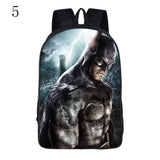 New Fashion super hero Batman cute backpack for boys go to school