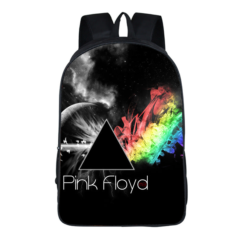 Fashion pink floyd  backpack for fans