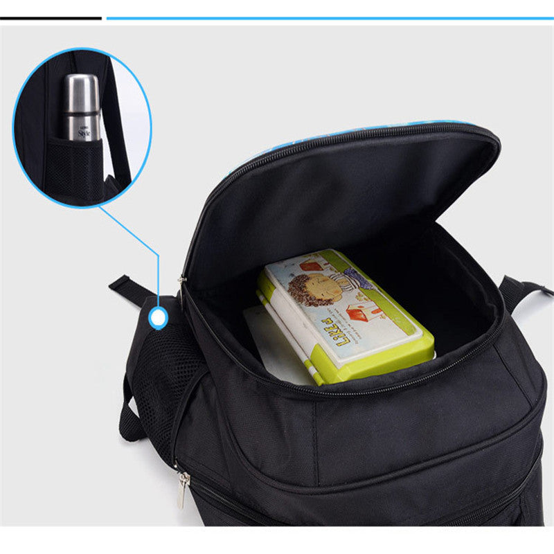 Fortnite Black Knight Backpack with Lunch Bag Pencil Case for Kids go  to School