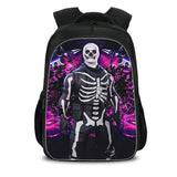 Fortnite Skull Trooper Backpack with Lunch Box and Pencil Case 3pcs