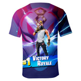 Fortnite Drift 3D Print Short Sleeve Top Youth T-shirt