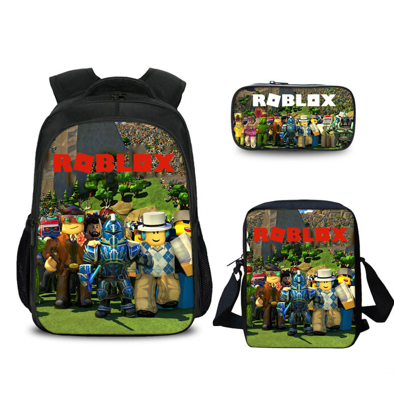 Game Roblox backpack  lunch bag and pencil case
