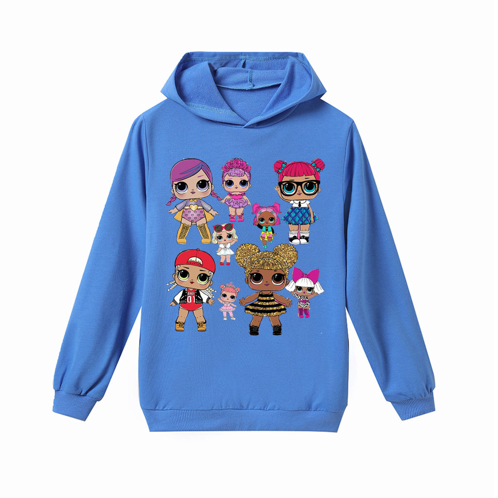 L.O.L. Surprise! Hoodie Skyblue