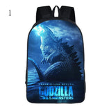 Fashion Godzillas 2 school backpack teenagers book bag