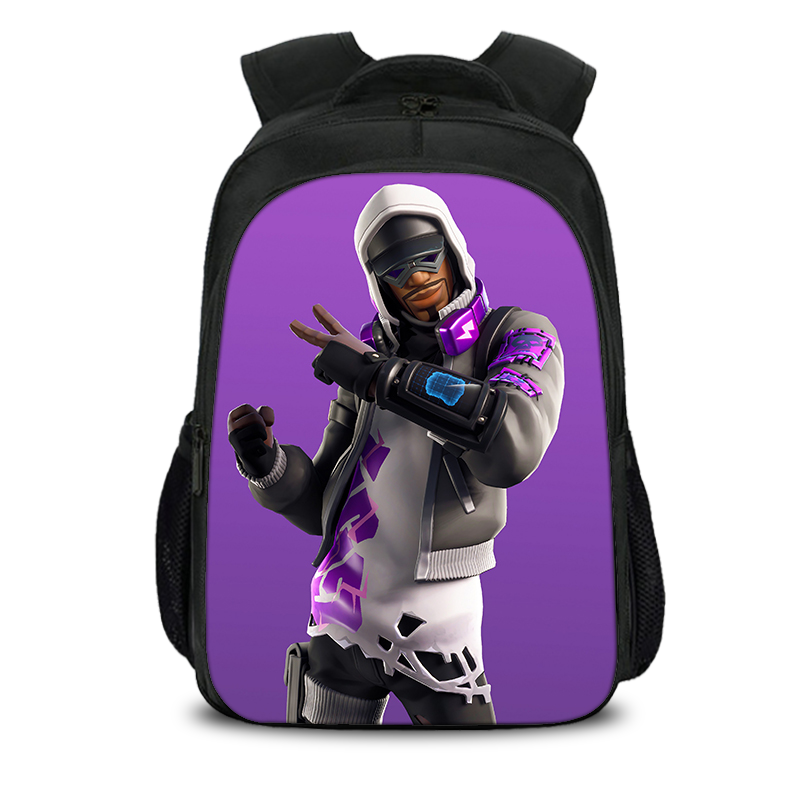 Fortnite Season 9 Stratus Backpack Kid for School 16 Inch